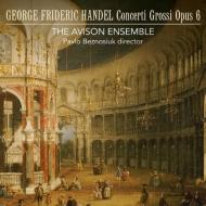 合奏協奏曲集 作品6 全曲 パヴロ・ベズノシウク&エイヴィソン・アンサンブル(3CD)