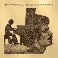 Solo Performance, New York '75