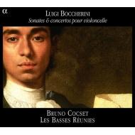 ボッケリーニ:チェロのための作品集1 ソナタと協奏曲 ブリュノ・コクセ(baroque cello)/アンサンブル・レ・バッス・レユニ