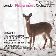 アルプス交響曲、『影のない女』管弦楽曲集、『サロメ』〜7つのヴェールの踊り ヴラディーミル・ユロフスキー&ロンドン・フィル(2CD)