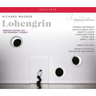 Lohengrin : Andris Nelsons / Bayreuther Festspielhaus, Klaus Florian Vogt, Annette Dasch, Zeppenfeld, etc (2011 Stereo)(3CD)