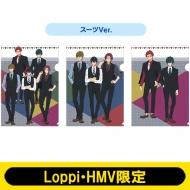 クリアファイル3枚セット(スーツ)/ Free!-Dive to the Future-【Loppi・HMV限定】