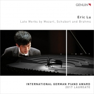 ブラームス:6つのピアノのための小品、シューベルト:4つの即興曲、モーツァルト:ロンド エリック・ルー