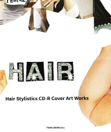 Hair Stylistics CD-r Cover Art Works BOOK With CD Best!