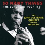 So Many Things: European Tour 1961 Vol.1 (2CD)