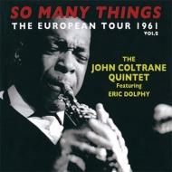 So Many Things: European Tour 1961 Vol.2 (2CD)
