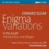 エニグマ変奏曲、序奏とアレグロ、序曲『南国にて』 ロジャー・ノリントン&シュトゥットガルト放送交響楽団