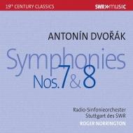交響曲第7番、第8番 ロジャー・ノリントン&シュトゥットガルト放送交響楽団