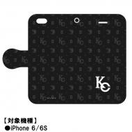 手帳型スマホケース iPhone 6/6Sサイズ(海馬コーポレーション)