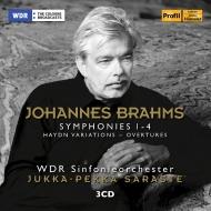 交響曲全集、ハイドンの主題による変奏曲、大学祝典序曲、悲劇的序曲 ユッカ=ペッカ・サラステ&ケルンWDR交響楽団(3CD)