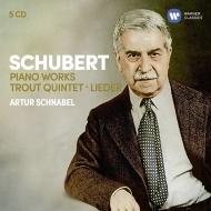 ピアノ作品集、ます、歌曲集 アルトゥール・シュナーベル、プロ・アルテ四重奏団員、テレーゼ・ベーア=シュナーベル(5CD)