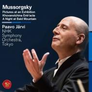 展覧会の絵、禿山の一夜(原典版)、ゴリツィン公の流刑 パーヴォ・ヤルヴィ&NHK交響楽団