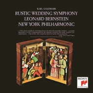 ゴルトマルク:交響曲第1番『田舎の婚礼』、スメタナ:『売られた花嫁』より レナード・バーンスタイン&ニューヨーク・フィル