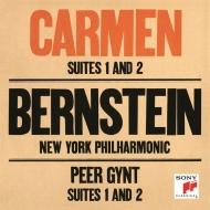 ビゼー:『カルメン』組曲第1番、第2番、グリーグ:『ペール・ギュント』組曲第1番、第2番 レナード・バーンスタイン&ニューヨーク・フィル
