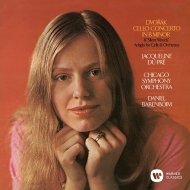 Elgar Cello Concerto, Sea Pitures, Dvorak Cello Concerto, etc : Jacqueline du Pre(Vc)Janet Baker(Ms)Barbirolli / Lso, Barenboim / Cso (Single Layer)