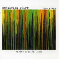 ウルフ、クリスティアン(1934-)/Long Piano: Thomas Schultz(P)