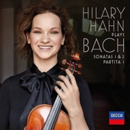 無伴奏ヴァイオリン・ソナタ第1番、第2番、パルティータ第1番:ヒラリー・ハーン(ヴァイオリン)(2枚組アナログレコード/Decca)