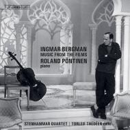 『イングマール・ベルイマン監督作品の音楽』 ローランド・ペンティネン、トゥールレイフ・テデーエン、ステンハンマル四重奏団