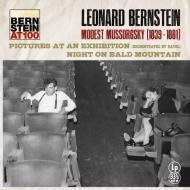 展覧会の絵(ラヴェル編曲)、禿山の一夜:レナード・バーンスタイン指揮&ニューヨーク・フィルハーモニック (180グラム重量盤レコード/Bernstein At 100)