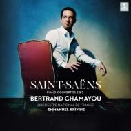 ピアノ協奏曲第2番、第5番「エジプト風」:ベルトラン・シャマユ(ピアノ)、エマヌエル・クリヴィヌ指揮&フランス国立管弦楽団 (180グラム重量盤レコード/ERATO)