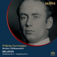 交響曲第4番、第3番 ヴィルヘルム・フルトヴェングラー&ベルリン・フィル(1948、1949)(シングルレイヤー)