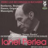 ベートーヴェン:交響曲第5番『運命』、ブラームス:交響曲第1番、ムソルグスキー:展覧会の絵、他 イオネル・ペルレア&エネスコ・フィル、他(1969 ステレオ)(2CD)