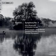 交響曲第3番、アルト・ラプソディ、ハンガリー舞曲第11〜16番、他 トーマス・ダウスゴー&スウェーデン室内管弦楽団、アンナ・ラーション、他