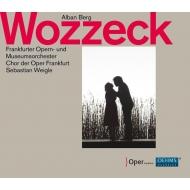 『ヴォツェック』全曲 セバスティアン・ヴァイグレ&フランクフルト歌劇場、アウドゥン・イヴェルセン、クラウディア・マーンケ、他(2016 ステレオ)(2CD)