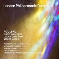 ピアノ協奏曲、スターバト・マーテル、オルガン協奏曲 ヤニク・ネゼ=セガン&ロンドン・フィル、アレクサンドル・タロー、ケイト・ロイヤル、他