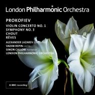 交響曲第3番、ヴァイオリン協奏曲第1番、道化師、夢 アレクサンドル・ラザレフ&ロンドン・フィル、ヴァディム・レーピン、他(2CD)