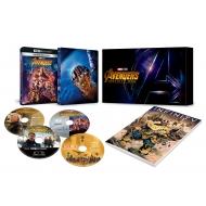 アベンジャーズ/インフィニティ・ウォー 4K UHD MovieNEXプレミアムBOX(数量限定)