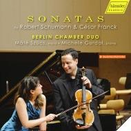 シューマン:ヴァイオリン・ソナタ第1番(ヴィオラ版)、詩人の恋より、フランク:ヴァイオリン・ソナタ(ヴィオラ版)、他 ベルリン・チェンバー・デュオ