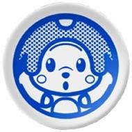 〔波佐見焼き〕オトッペレコード豆皿 ウィンディ/オトッペ