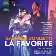『ファヴォリータ』全曲(フランス語) ファヴィオ・ルイージ&フィレンツェ五月祭、シメオーニ、アルベーロ、他(2018 ステレオ)(2CD)
