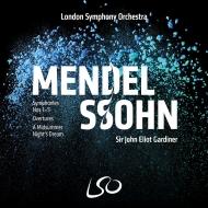 交響曲全集、序曲集、『真夏の夜の夢』 ジョン・エリオット・ガーディナー&ロンドン交響楽団(4SACD)(+ブルーレイ・オーディオ)