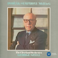 Schubert Symphony No.9, Dvorak Symphony No.8, etc : George Szell / Cleveland Orchestra (1970)(Single Layer)