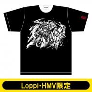 モンスターストライク 墨絵 Tシャツ XL(ミロク進化)【Loppi・HMV限定】