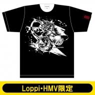 モンスターストライク 墨絵 Tシャツ L(五右衛門進化)【Loppi・HMV限定】