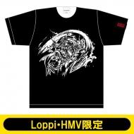 モンスターストライク 墨絵 Tシャツ XL(源義経獣神化)【Loppi・HMV限定】