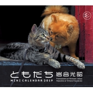 2019ミニカレンダー 岩合光昭 ともだち 卓上
