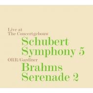 シューベルト:交響曲第5番、ブラームス:セレナード第2番 ジョン・エリオット・ガーディナー&オルケストル・レヴォリューショネル・エ・ロマンティーク
