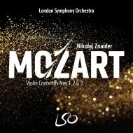 ヴァイオリン協奏曲第1番、第2番、第3番 ニコライ・ズナイダー、ロンドン交響楽団