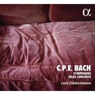 4つのハンブルク交響曲、チェロ協奏曲イ長調 カフェ・ツィンマーマン、ペトル・スカルカ