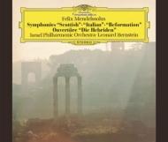 交響曲第3番、第4番、第5番、フィンガルの洞窟 レナード・バーンスタイン&イスラエル・フィル(2SACD)(シングルレイヤー)