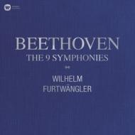 交響曲全集:ヴィルヘルム・フルトヴェングラー指揮&ウィーン・フィルハーモニー管弦楽団、他 (BOX仕様/10枚組/180グラム重量盤レコード/Warner Classics)