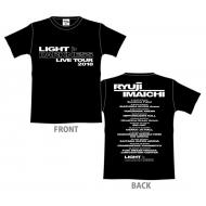LIGHT>DARKNESS ツアーTシャツ[L] / BLACK