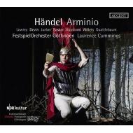 『アルミニオ』全曲 ローレンス・カミングス&ゲッティンゲン祝祭管弦楽団、クリストファー・ローリー、アンナ・デヴィン、他(2018 ステレオ)(3CD)