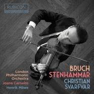ブルッフ:ヴァイオリン協奏曲第1番、ステンハンマル:2つの感傷的なロマンス、ヴァイオリン・ソナタ クリスチャン・スヴァルヴァール、カルネイロ&ロンドン・フィル、他