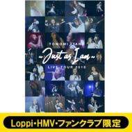 板野友美 LIVE TOUR 2018 〜Just as I am〜(DVD)【Loppi・HMV・ファンクラブ限定先行発売】