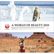 A WORLD OF BEAUTY (JAL)/ 2019年カレンダー